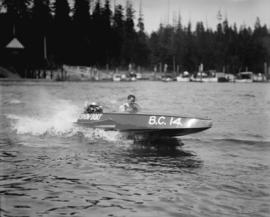 Boeing Aircraft Co. of Canada, speedboats on Coal Harbour