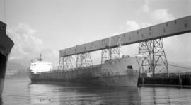 M.S. Avery C. Adams [at dock]