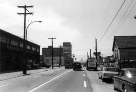 Aspect looking west along Prior Street with subject property [Iberica Garage and Northland Cafe 2...