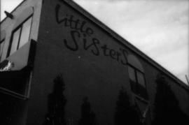 [Exterior of] Little Sister's [at 1221 Thurlow Street]