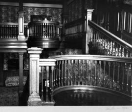 Angus Apartments (Gabriola), 1531 Davie Street, staircase