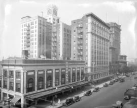[View of Georgia Street looking west from Seymour Street]