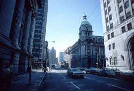 [View of buildings from] Hastings St[reet] at Granville [Street]