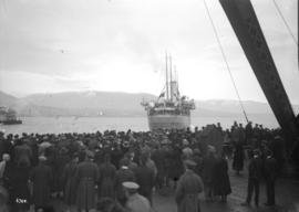 """Monteagle"" leaving Vancouver with Siberian Expeditionary Forces"