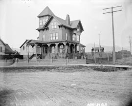 [Mayor William Templeton residence at 1213 Barclay Street and Bute Street]