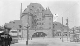 [C.P.R. Station at the foot of Granville Street]