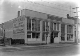 Exterior of Auto Metal [Works] & Radiator Co., Canadian Industries Ltd.