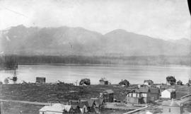 [Northern view of West End from first Hotel Vancouver]