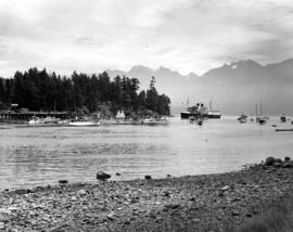 """Lady Alexandra"" entering Bowen Island Harbour [Deep Bay]"