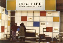 Challier Design Consultants display booth
