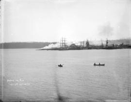 [Vancouver waterfront] before the fire [of 1886]