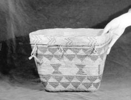 Lipsett Museum [display] at the Vancouver Exhibition: [Basket]