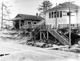 Rupert St. school house - re Bayley's claim