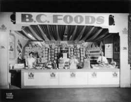B.C. Foods display of food products