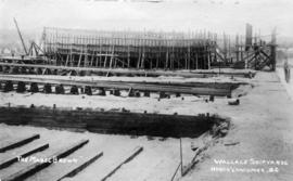 """The Mabel Brown"" [under construction] - Wallace Shipyards North Vancouver, B.C."