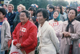 Centennial Commission Canada Day celebration attendees