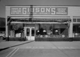 Gibson's Furniture Store, 1397 Marine Drive, West Vancouver