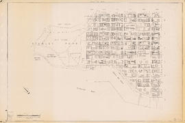 Sectional map of Vancouver showing streets, block and lot outlines, and building perimeters: Map ...