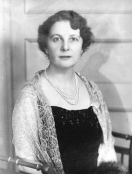 [Mrs. Julius Griffith, President Women's Canadian Club]