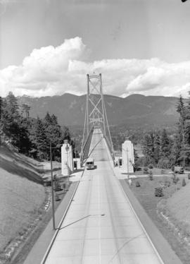 [View of] Lions Gate Bridge [looking north]