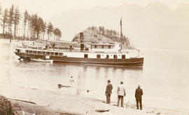"[S.S. ""Comox"" in Cates Bay]"