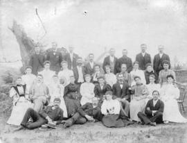 [Members of the Mount Pleasant Presbyterian Church]