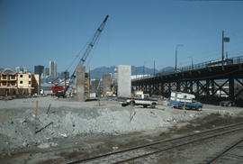 Cambie Bridge Construction [18 of 76]