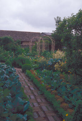 Gardens - United Kingdom : Barnsley House, the potager