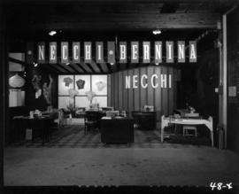Necchi Sewing Machines Canada display of Necchi-Bernina sewing machines