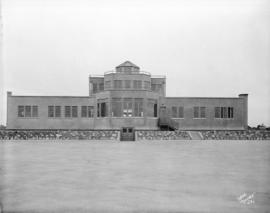 [Sea Island Airport administration building]