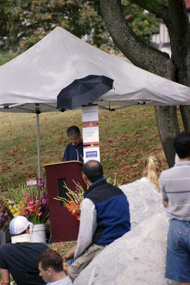 AIDS Memorial dedication