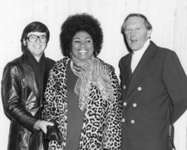 [Ron McDougall, Leontyne Price and Hugh Pickett at] Hyatt Regency