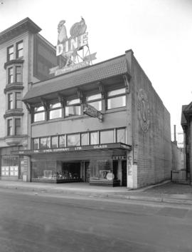 Western Photo building [at 787] Hornby Street
