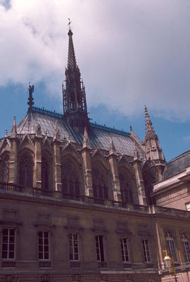 Architecture : St. Chapelle, Paris