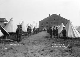 Drill Hall and Camp - 6th Field Company C.E.