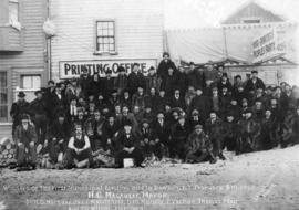 Winners of the First Municipal Election Held in Dawson, Y.T. February 6th,1902.