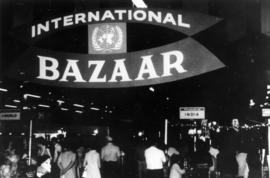 1969 P.N.E. International Bazaar exhibits in Pacific Showmart building