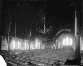 [Interior of Christ Church Cathedral at Georgia and Burrard Streets]