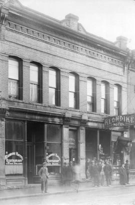 [Klondike Hotel at 218 Carrall Street]