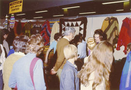Display of products from South American countries at 1971 P.N.E. International Bazaar