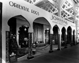 Jordans display of Oriental rugs