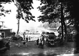 [Whytecliffe buses at Horseshoe Bay]