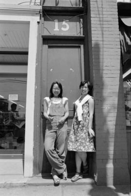 Kathy Wong and Gloria Soon at 15 East Pender Street