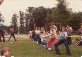 Annual picnic - women's tug o' war