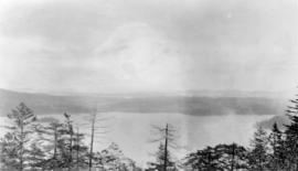 The Gulf Islands from the Malahat