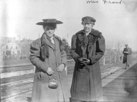 Mrs. Frost [and unidentified woman]