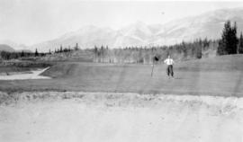 [View of the golf course visited by Douglas Haig, 1st Earl Haig (Field Marshal)]