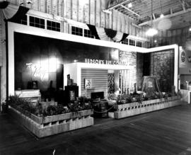 Hudson's Bay Co. display of household furnishings