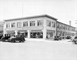 [Clark Parsons Buick Limited showroom building on West Georgia Street]