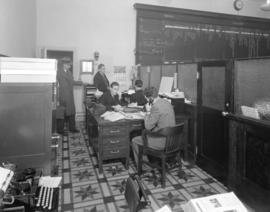 E.J. Gibson Company Limited office interior [at 791 Dunsmuir Street]
